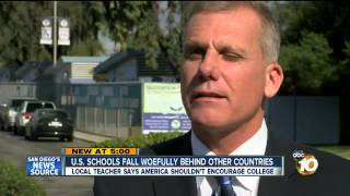 "ABC News ""Keith Ballard talks about PISA Test"""
