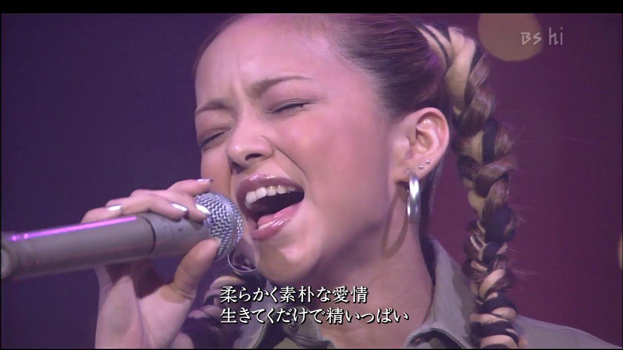 安室奈美恵 I HAVE NEVER SEEN 【1080p】(BS-hi) 2001.12.23 O.A.
