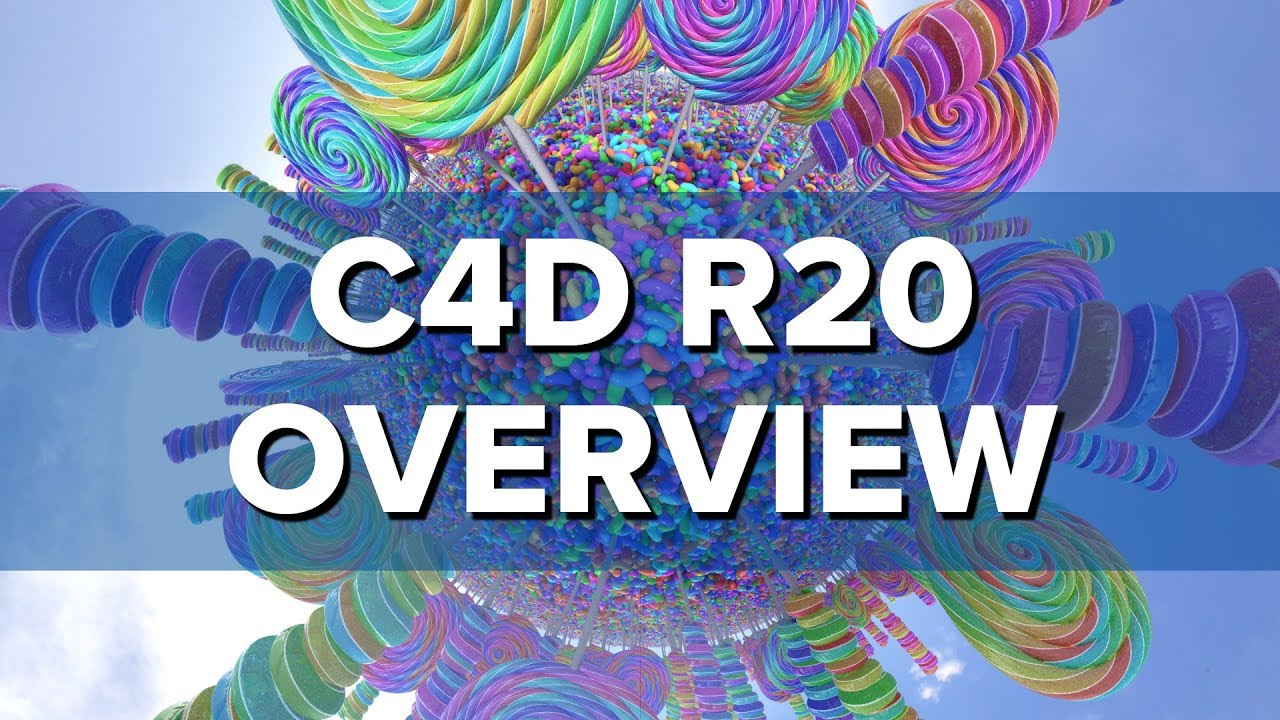 Sweet New Features in Cinema 4D Release 20
