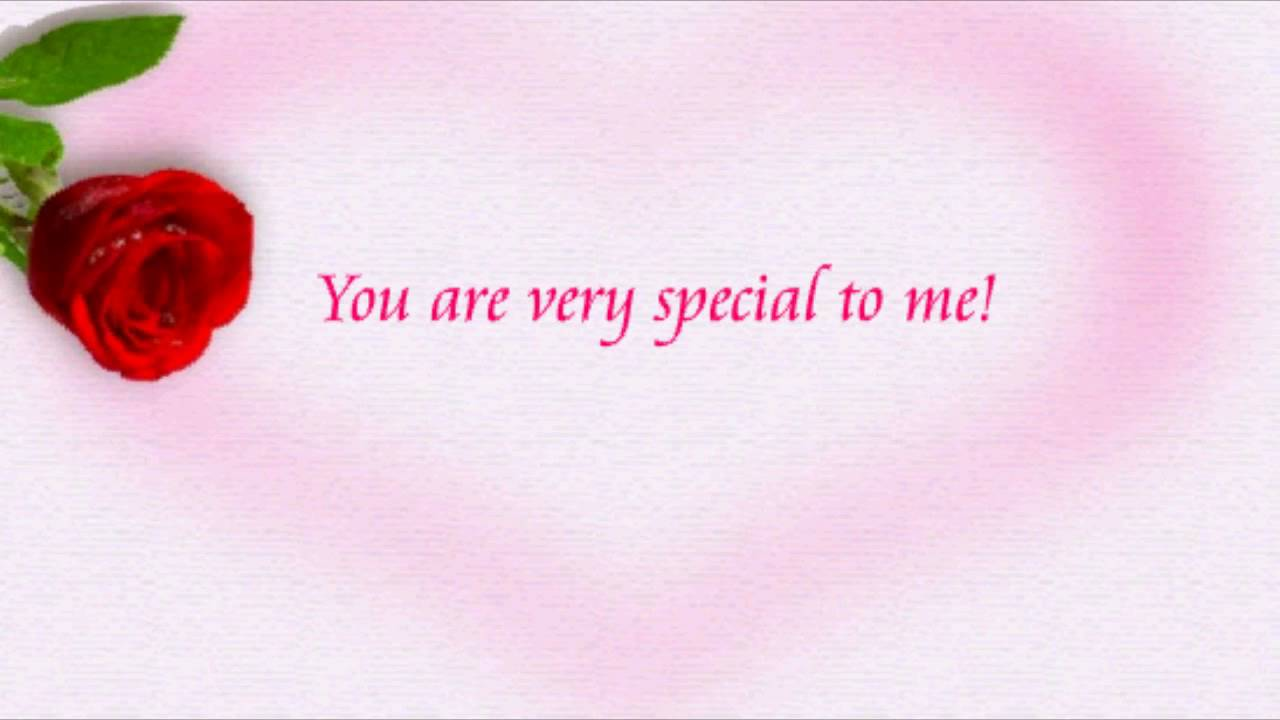 For Someone Special Youtube