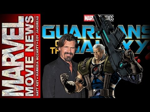 Josh Brolin cast as Cable? Guardians 2 has 4 after credits scenes?! - Marvel Movie News Ep. 127