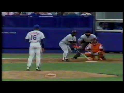 San Diego Padres at New York Mets  07 11 1991