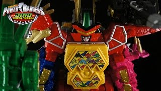 Power Rangers Dino Super Charge - Titano Charge Megazord and Dino Charge Ultrazord (Toy)