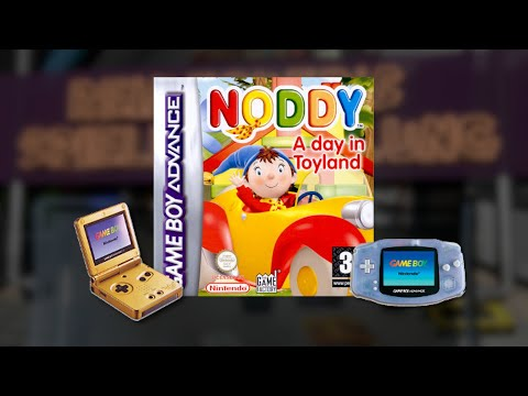 Gameplay : Noddy A Day in Toyland [Gameboy Advance]