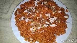 नारंगी गाजर का हलवा ! by kanchan cooking recipe