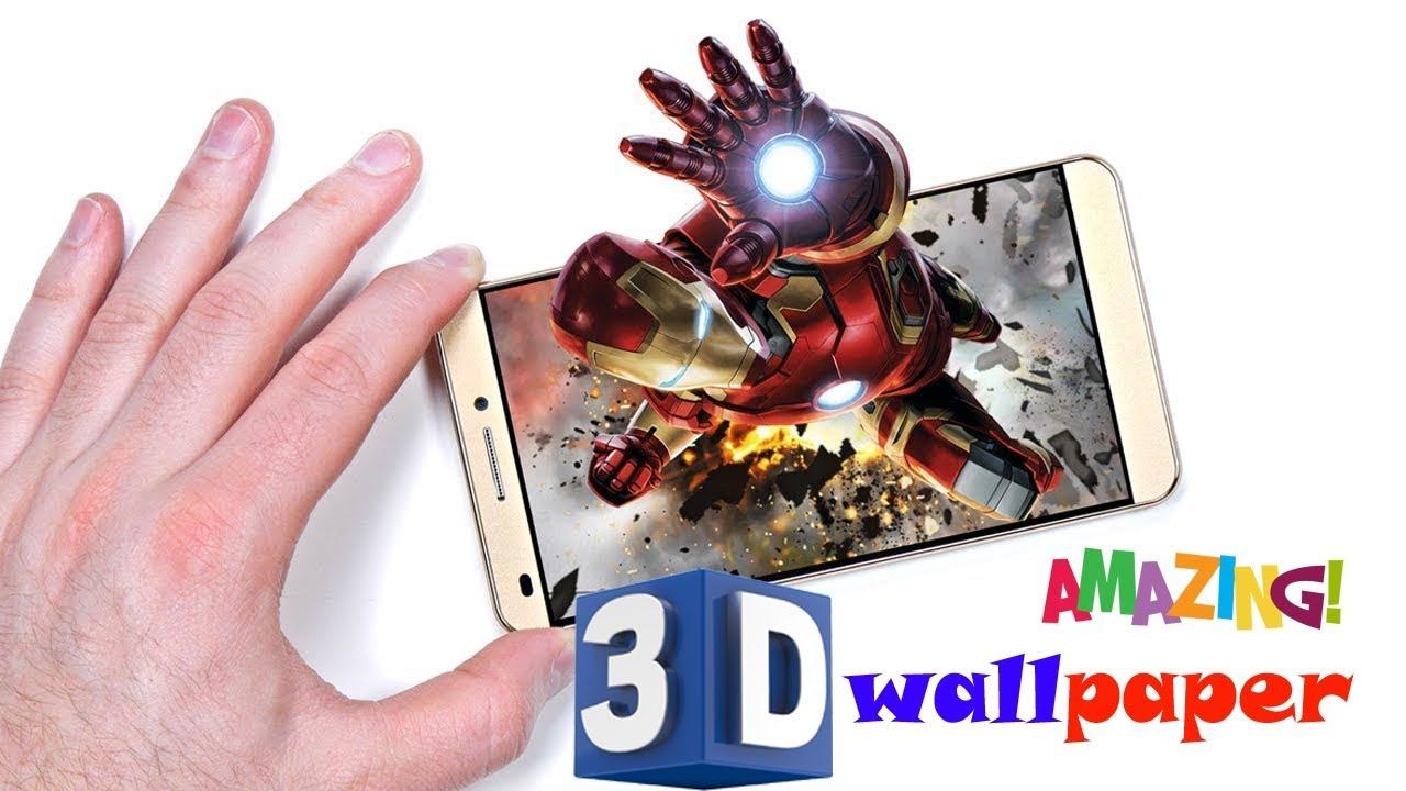 How to make 3d hologram live wallpaper for android best android apps 2018 youtube - How to make 3d hologram wallpaper ...