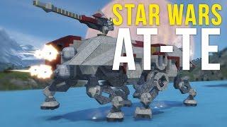 Star Wars Walker | AT-TE | Replica [Space Engineers]