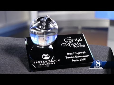 Crystal Apple Award honors Bardin Elementary school teacher