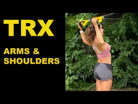 TRX ARMS AND SHOULDERS WORKOUT GET ARMED FOR THE SUMMER!!!!