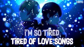 Nightcore - i'm so tired... (Lauv & Troye Sivan) - (Lyrics)