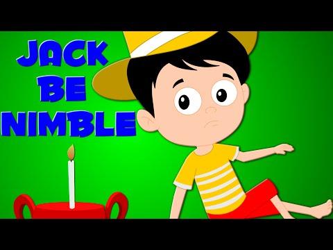 Jack Be Nimble Kids Songs   Nursery Rhymes   Baby Rhyme  kids tv S02 EP91