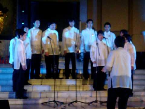 Santo Domingo Male Chorale (SDMC) - Memorare