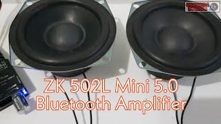 ZK 502-L Mini 5.0 Bluetooth Amplifier