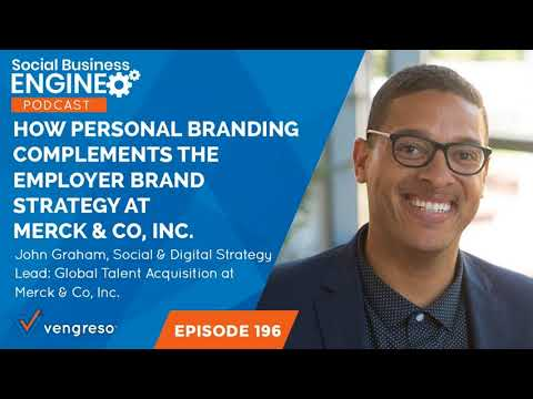How Personal Branding Complements the Employer Brand Strategy at Merck & Co., Inc.
