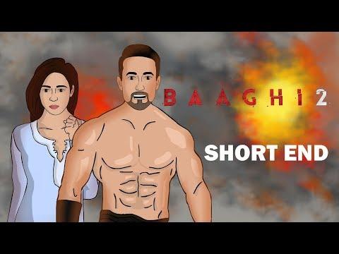 Baaghi 2 short end | tiger shorff | hum hai toon
