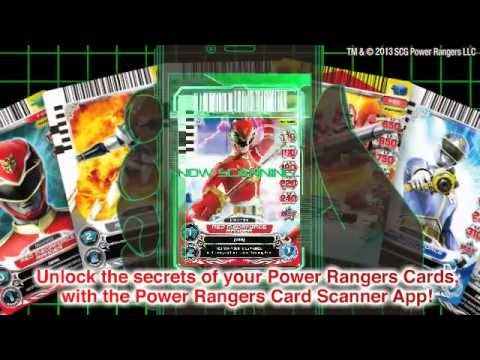 Power rangers action card game scanner app youtube - Power rangers ryukendo games free download ...