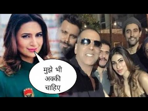 Divyanka tripathi Reaction on Akshay Kumar and mouni roy, divyanka wishes playing with akki
