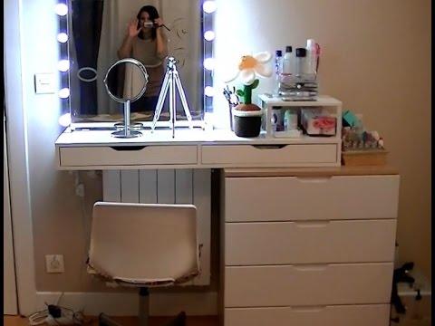 Mi tocador de maquillaje coleccin y organizacin