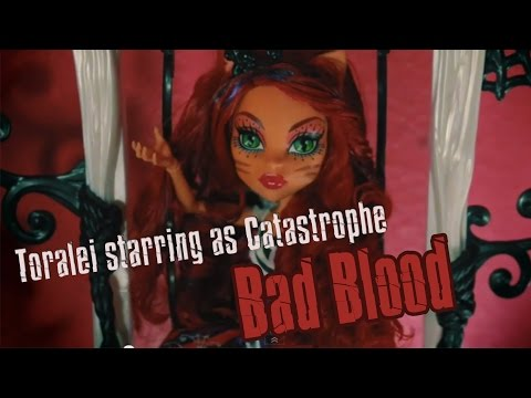 Monster High : Bad Blood Music Video : Stop Motion