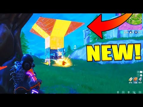 NEW PORT-A-FORT GAMEPLAY!!! (Solo Win Fortnite Battle Royale)