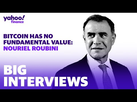 Nouriel Roubini: Bitcoin has no fundamental value… the price is driven by manipulation