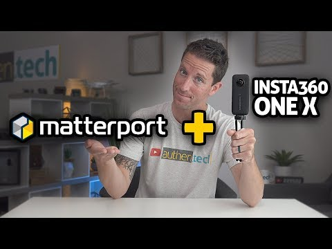 Matterport + Insta360 ONE X = 3D VR Goodness!