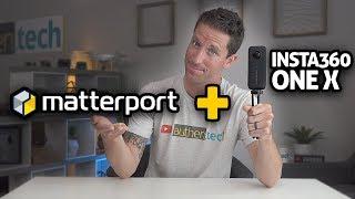 Matterport + Insta360 ONE X = 3D VR Goodness!