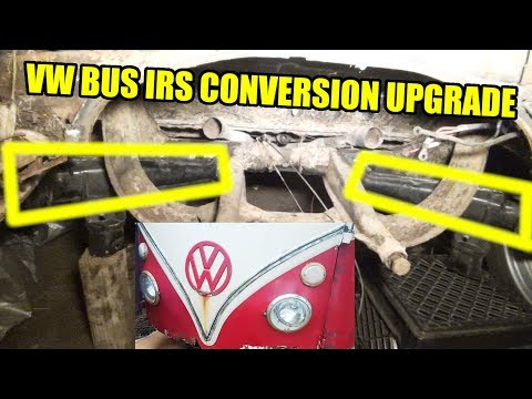 VW Beetle IRS Upgrade to Bus - 1967 VW Bus - Gregory - 13