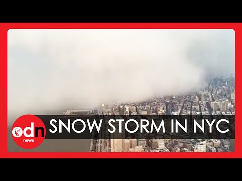 Incredible Timelapse Captures Snow Storm Sweeping Over New York City