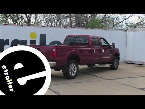 Reese Elite Series Under-Bed Gooseneck Trailer Hitch Installation - 2015 Ford F-350 Super Duty