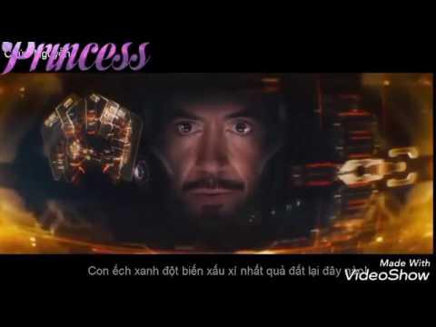 (NHẠC REMIX) cuộc chiến của Iron man vs hulk thumbnail