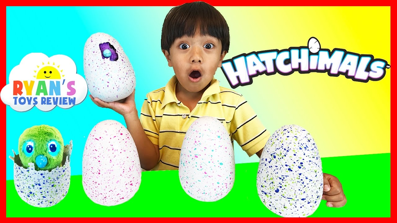 Surprise eggs opening magical animals hatching egg spin master kids