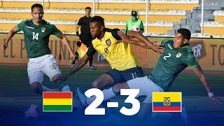 Eliminatorias   Bolivia vs Ecuador   Fecha 3