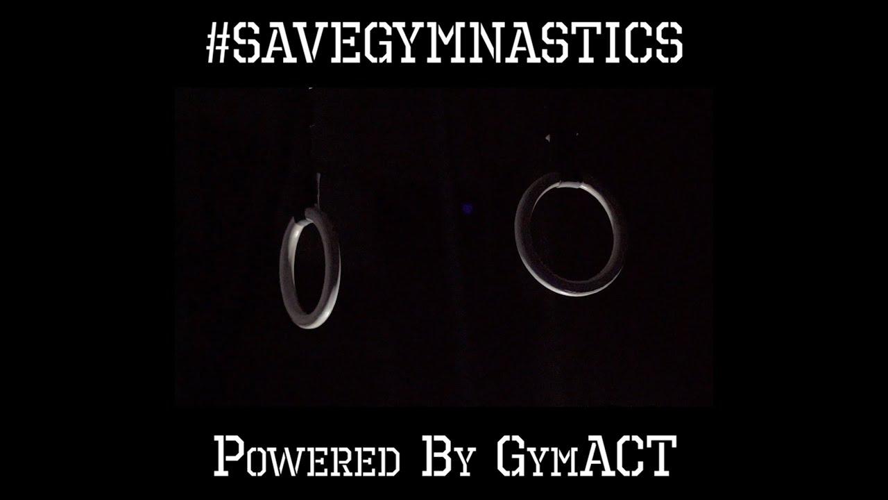 GymACT #SaveGymnastics Campaign Promo