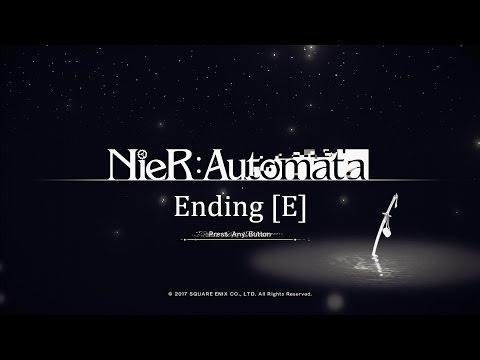 *Spoilers* Nier:Automata Ending E - Cinematics & Final Boss (Both Choices)