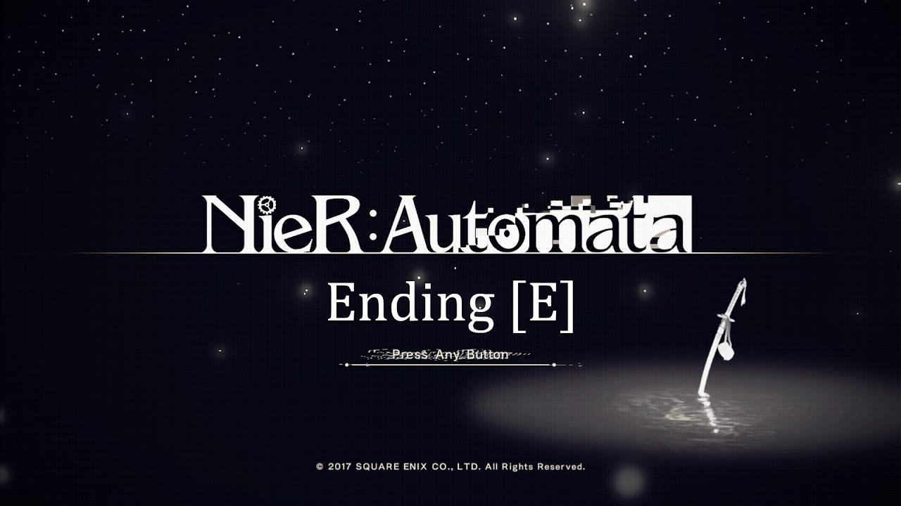 Image result for nier automata ending e
