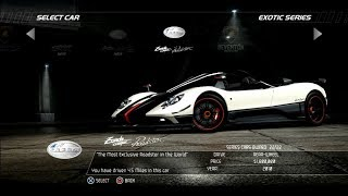 Need For Speed Hot Pursuit: Pagani Zonda Cinque Roadster (Test Drive)