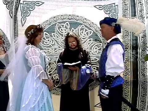 CELTIC RENAISSANCE WEDDING CEREMONY - YouTube