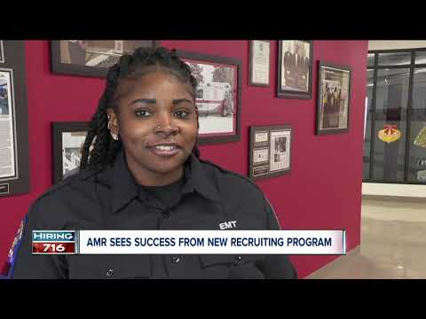 Get Paid While Training For Career As EMT. AMR Sees Success In New Initiative.