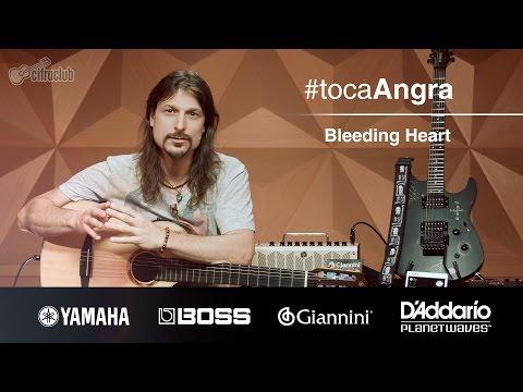 #tocaAngra | Bleeding Heart - Angra (aula de violão)