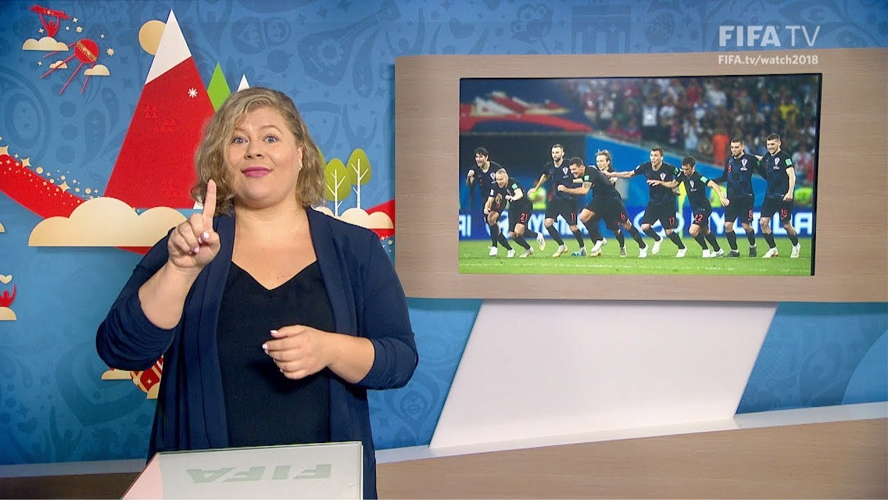 FIFA WC 2018 - RUS vs. CRO – for Deaf and Hard of Hearing - International Sign