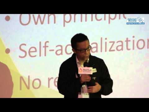 王維基@StartLab.HK 開幕禮, Startup Experience sharing