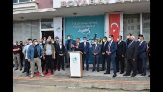 Enerji ve Tabii Kaynaklar Bakanı Fatih Dönmez'in Boyabat ziyareti