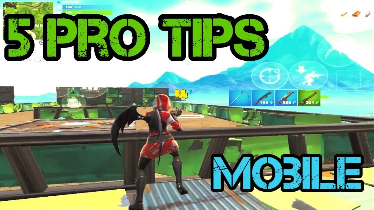 how to improve your aim fortnite mobile tutorial and tips - how to improve in fortnite mobile
