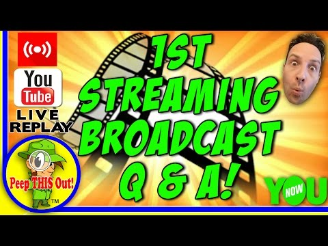 My 1st Streaming Broadcast Q & A! | 🔴 LIVE STREAM REPLAY 12-1-2016! 🎙📹