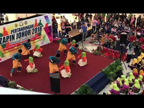 Pertandingan Zapin Johor- Bunga Anggerik