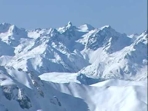 Montagnes de France : paradis enneigé ! - YouTube