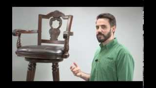 Assembly Video Of A Swivel Barstool With Arms - Ashley Furniture Homestore