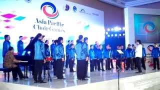 Vox Angelica Male Choir - Mazmur 150 - APCG 2013