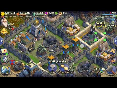 MaT Dominations Atomic Age lvl 187 base overview